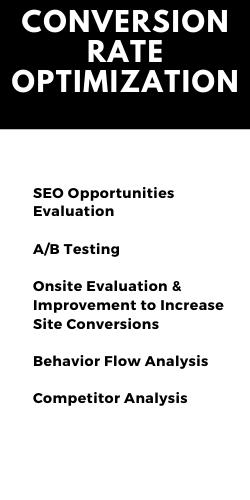 4 Cornerstones of SEO - Conversion Rate Optimization
