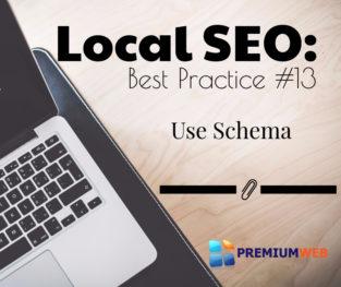 Local SEO: Use Schema