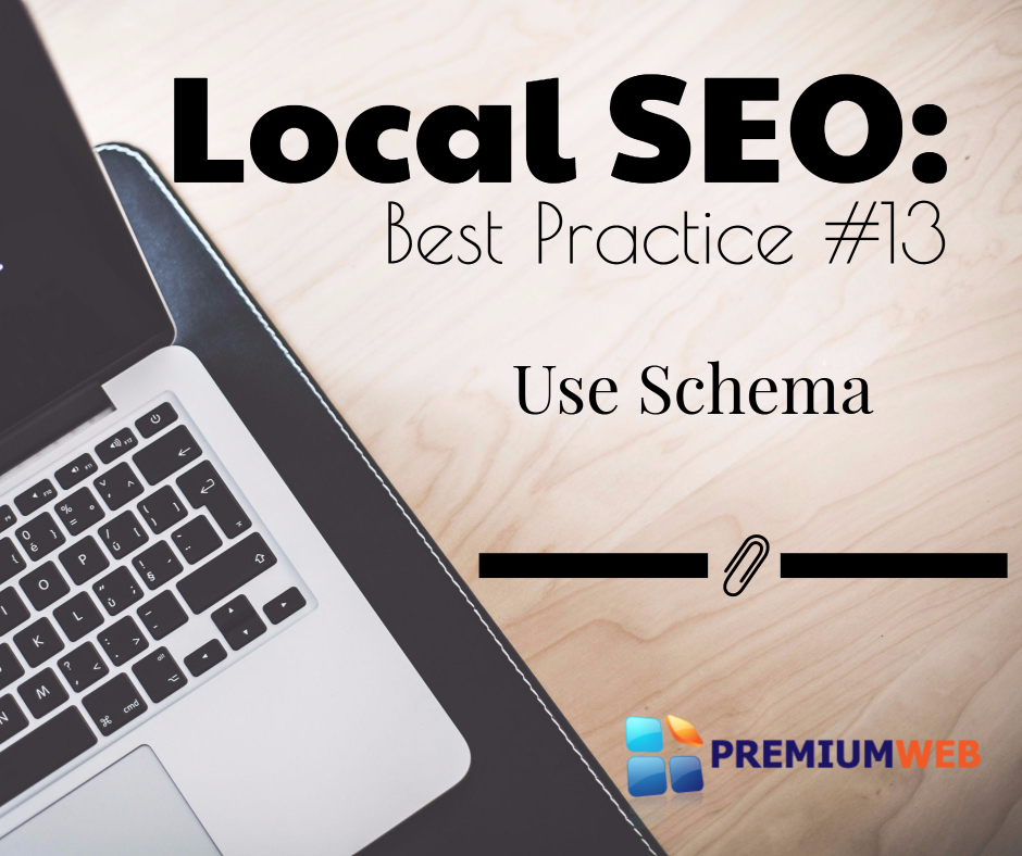 Local SEO: Use Schema