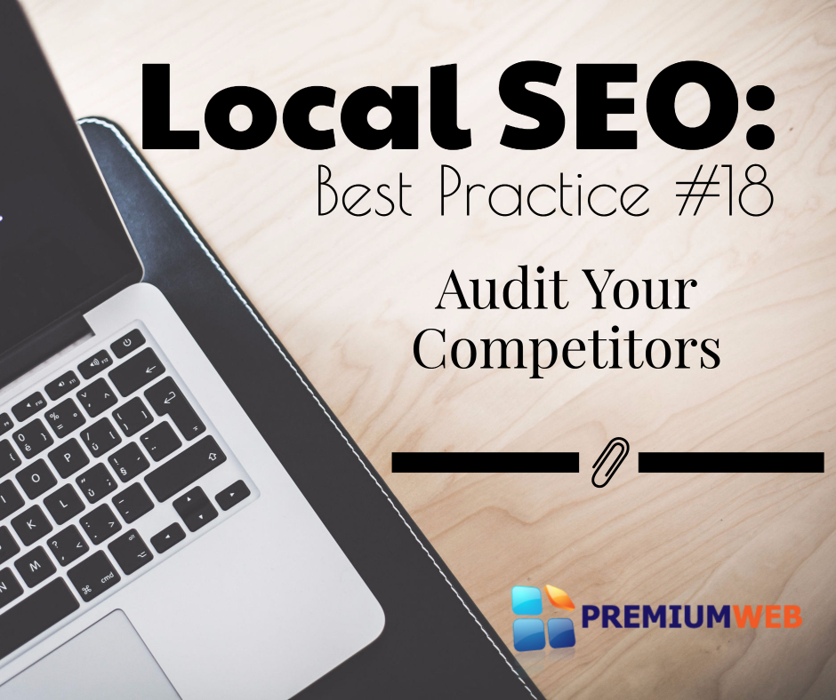 Local SEO: Audit Competitors