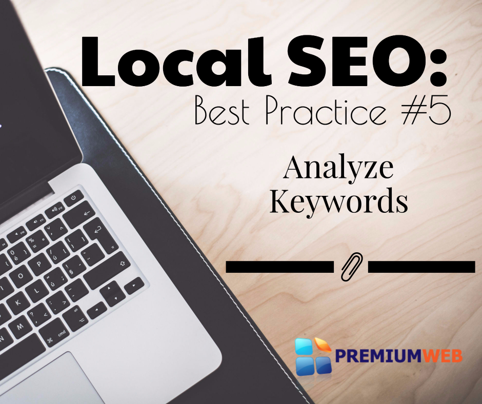 Local SEO: Analyze Keywords