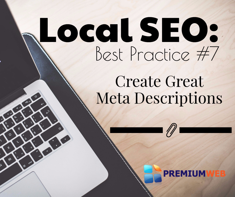 Local SEO: Great Meta Descriptions