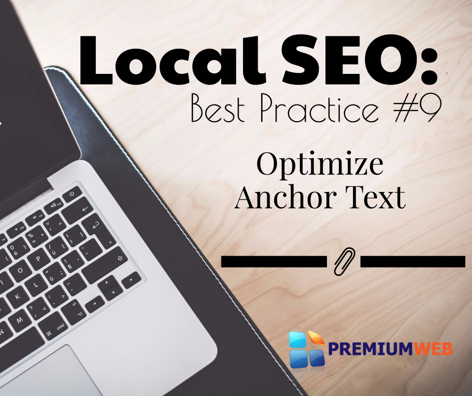 Local SEO: Optimize Anchor Text