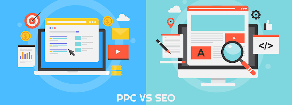 Pay-Per-Click Advertising versus Search Engine Optimization